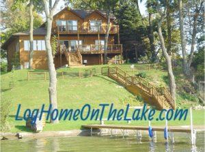 Vacation Rental - Log Home on the Lake