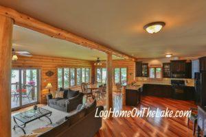 Open Main floor Living Room.