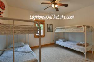 Bedroom #3 Main Floor Bunk beds. 4 Twin Bed total.